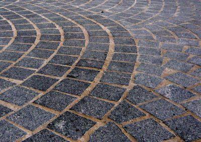 Pavés en granit - Rue Jean Jaurès Castres (81)