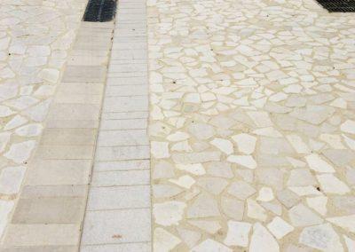 Bordures calcaires - Caussade